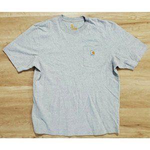 Carhartt Mens Workwear Pocket Gray T-Shirt L